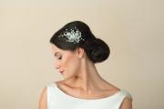 Bridal-comb-Magnolia model-Ivory&co 2
